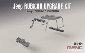 1/24 JEEP RUBICON UPGRADE KIT (RESIN) ak-interactive meng