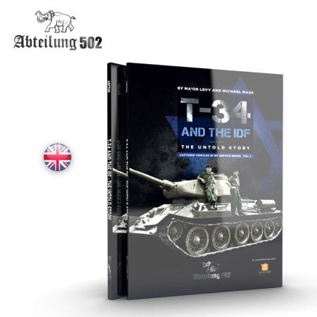 ABT709 BOOK T-34 and idf AK-INTERACTIVE abteilung502