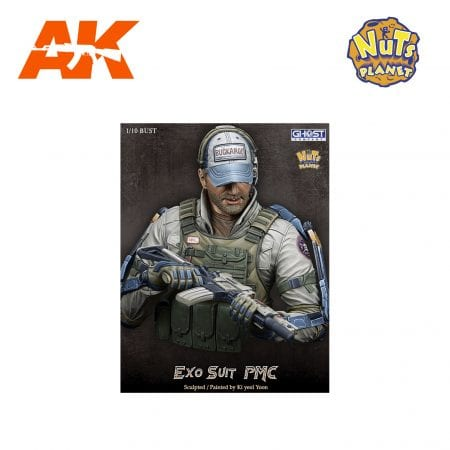 GC-B002 EXO SUIT PMC AK-INTERACTIVE NUTS PLANET FIGURES
