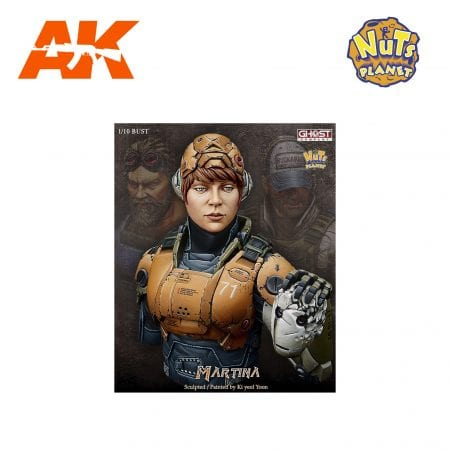 GC-B003 MARTINA AK-INTERACTIVE NUTS PLANET FIGURE