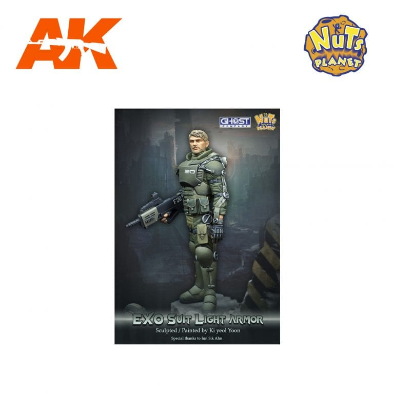 GC90-001 EXO SUIT LIGHT ARMOR nuts planet ak-interactive figure