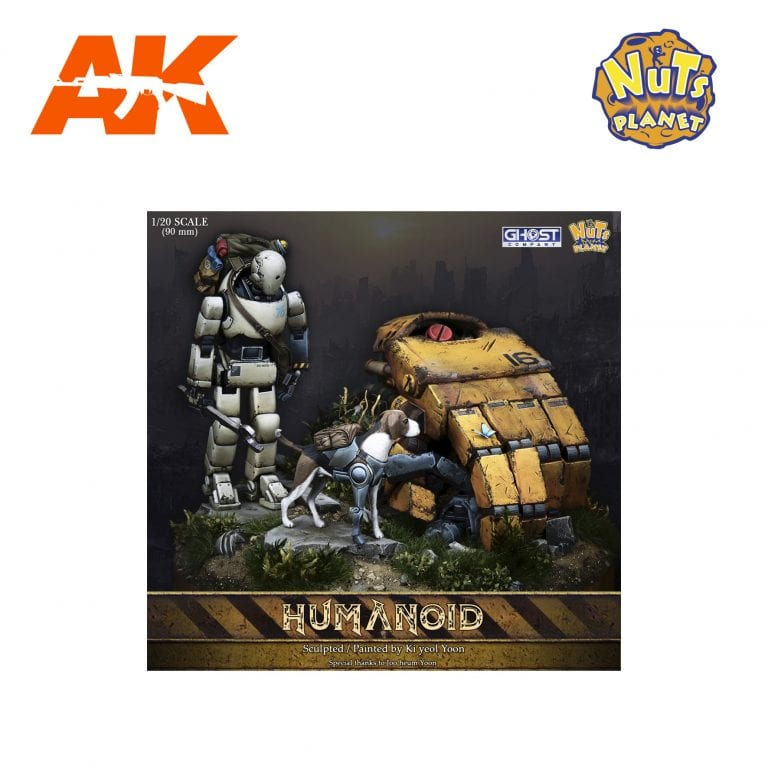 GC90-002 HUMANOID FULL PACKAGE AK-INTERACTIVE FIGURE