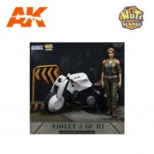 GC90-005 VIOLET & GC-B1 AK-INTERACTIVE NUTS PLANET FIGURES