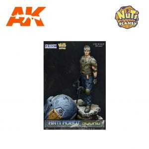 GC90-008 ANTI ROBOT SQUAD AK-INTERACTIVE, NUTS PLANET FIGURES