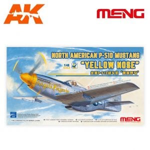 MM LS-009 NORTH AMERICAN P-51D MUSTANG YELLOW NOSE