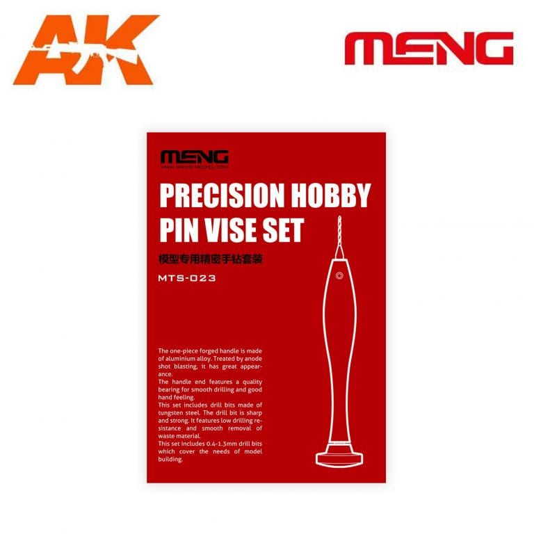 MM MTS-023 precision hobby pin vise set ak-interactive meng