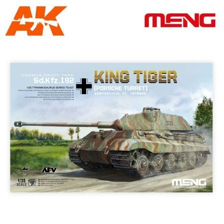 MM TS-037 KING TIGER TURRET PORSCHE AK-INTERACTIVE