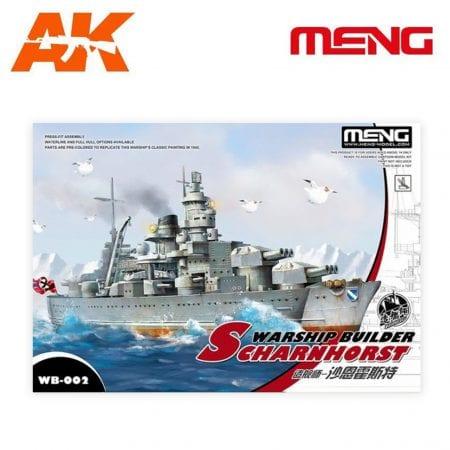 MM WB-002 warship builder scharnhorst ak-interactive meng