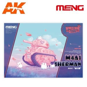 MM WB-002 m4a1 sherman world war toons meng ak-interactive