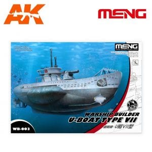MM WB-003 WASHIP BUILDER U-BOAT TYPE VII MENG AK-INTERACTIVE