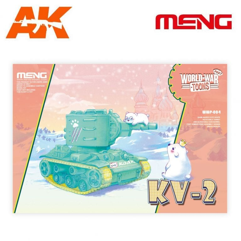 MM WWP-004 KV-2 WORLD WAR TOONS AK-INTERACTIVE MENG