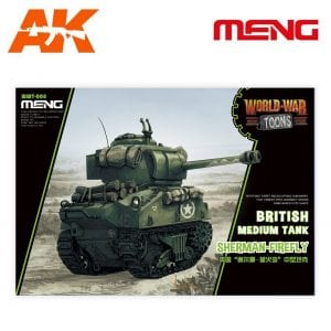 MM WWT-008 world war toons british medium tank sherman firefly ak-interactive meng