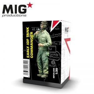 MP35-295 early idf tank commander ak-interactive migproductions