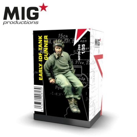 MP35-296 early idf tank gunner ak-interactive migproductions