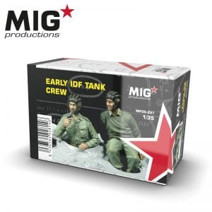 MP35-297 early idf tank crew migproductions ak-interactive