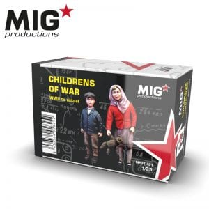 MP35-401 childrens of war migproductions ak-interactive resin