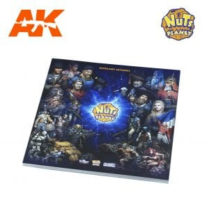 NP ART BOOK AK-INTERACTIVE MINIATURES NUTS PLANET