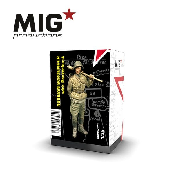 MP35-171 RUSSIAN SCROUNGER WITH PANZERFAUST ak-interactive mig productions