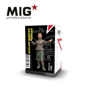 MP35-272 civilian russian woman ak-interactive mig productions