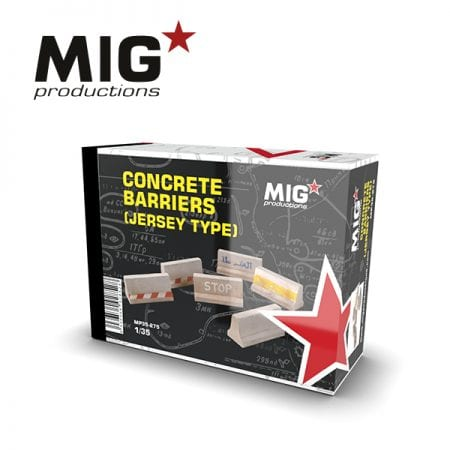 MP35-275 CONCRETE BARRIERS (JERSEY TYPE) ak-interactive migproductions