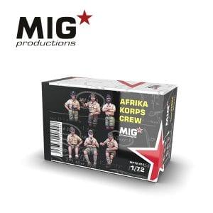 MP72-410 AFRIKA KORPS CREW ak-interactive migproductions