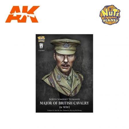 NP-I001 MAJOR OF BRITISH CAVARLY AK-INTERACTIVE NUTS PLANET