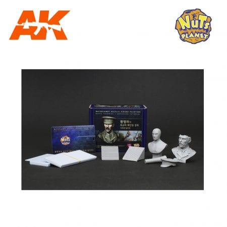NP-T001 FIGURE PAINTING TUTORIAL FULL SET AK-INTERACTIVE NUTS PLANET