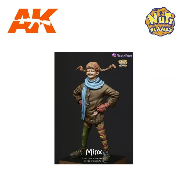 NP PF-001 MINX AK-INTERACTIVE NUTS PLANET