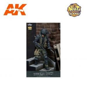 T75011 ADVANCE GUARD AK-INTERACTIVE NUTS PLANET