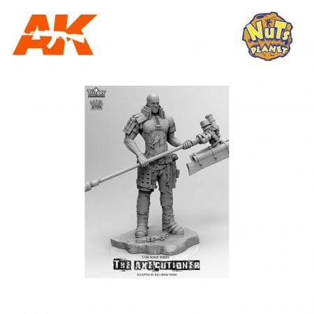 T75018 THE AXECUTIONER AK-INTERACTIVE NUTS PLANET