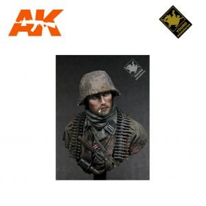 YM YH1804 GERMAN WAFFEN SS ARDENNES 1944 AK-INTERACTIVE YOUNG MINIATURES
