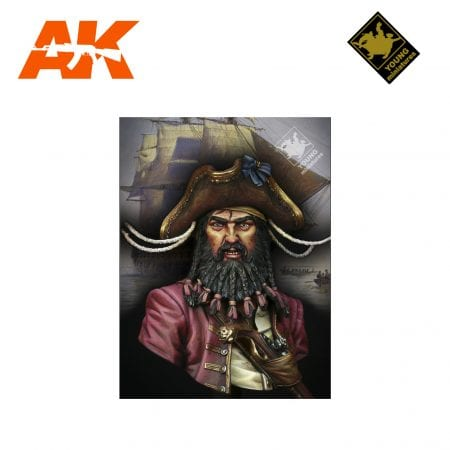 YM YH1823 BLACK BEARD 1718 QUEEN ANNE'S REVENGE AK-INTERACTIVE YOUNG MINIATURES