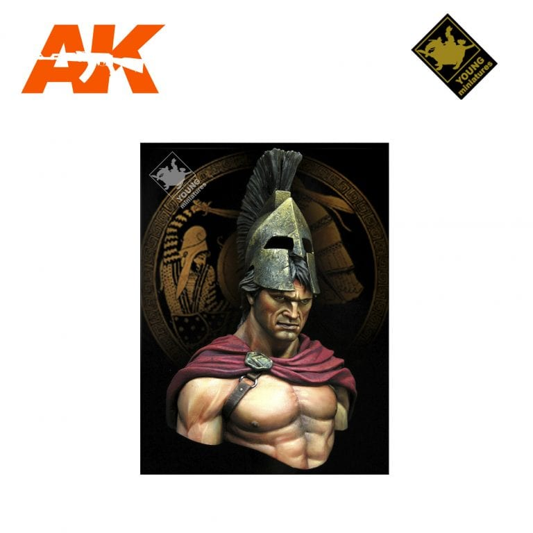YM YH1824 SPARTA BATTLE OF THERMOPYLAE 480 BC AK-INTERACTIVE YOUNG MINIATURES
