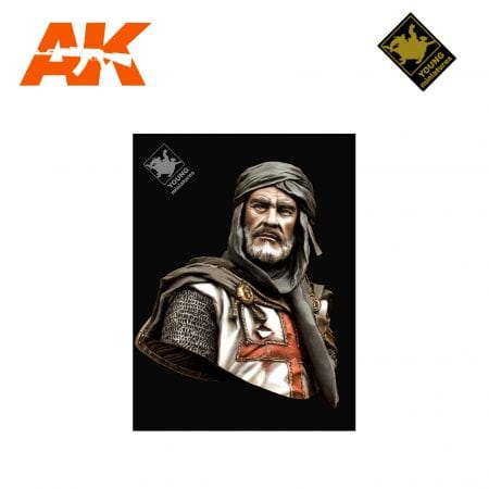 YM YH1827 TEMPLAR KNIGHT IN JERUSALEM AK-INTERACTIVE YOUNG MINIATURES
