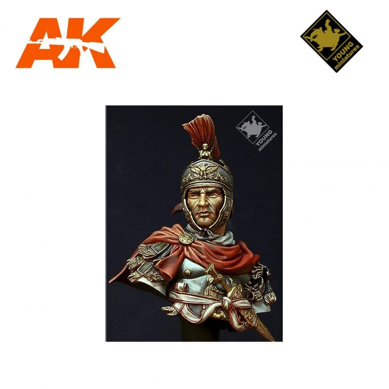 YM YH1829 ROMAN CAVALRY OFFICER 180 BC AK-INTERACTIVE YOUNG MINIATURES