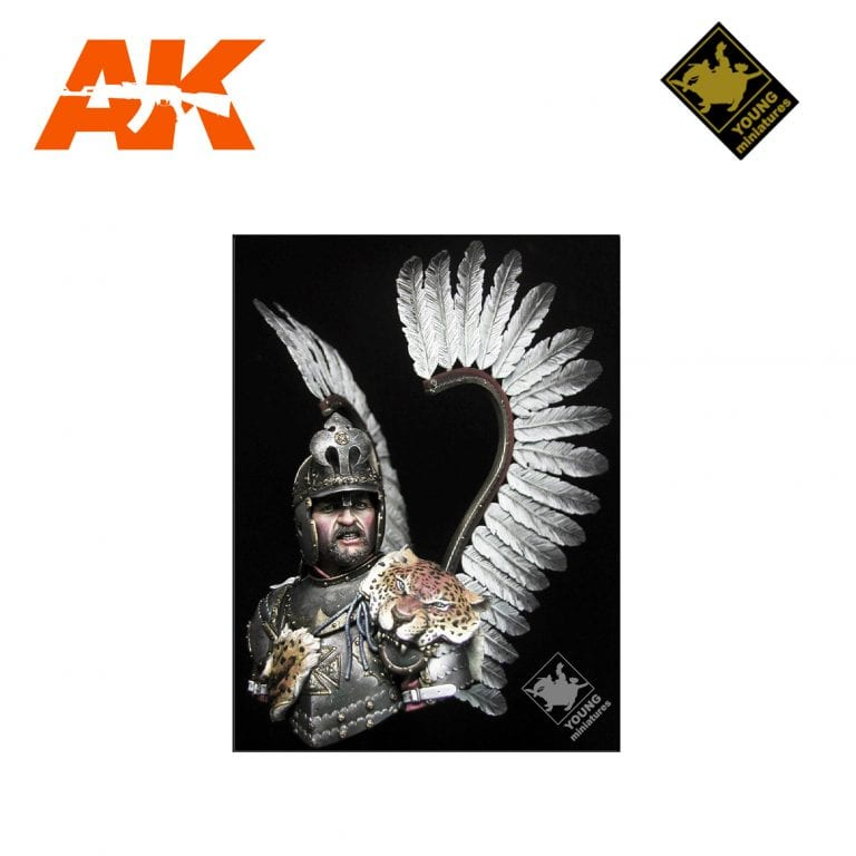 YM YH1831 POLISH WINGED HUSSAR 17TH CENTURY AK-INTERACTIVE YOUNG MINIATURES
