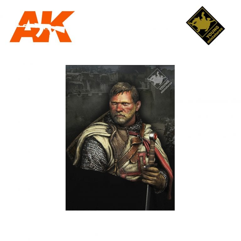 YM YH1837 TEMPLAR KNIGHT AK-INTERACTIVE YOUNG MINIATURES