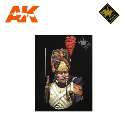 YM YH1847 FRENCH GRENADIERS OF THE IMPERIAL GUARD AK-INTERACTIVE YOUNG MINIATURES