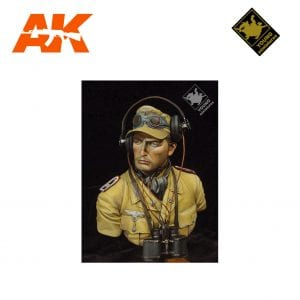 YM YM1802 DAK PANZER OFFICER AK-INTERACTIVE YOUNG MINIATURES