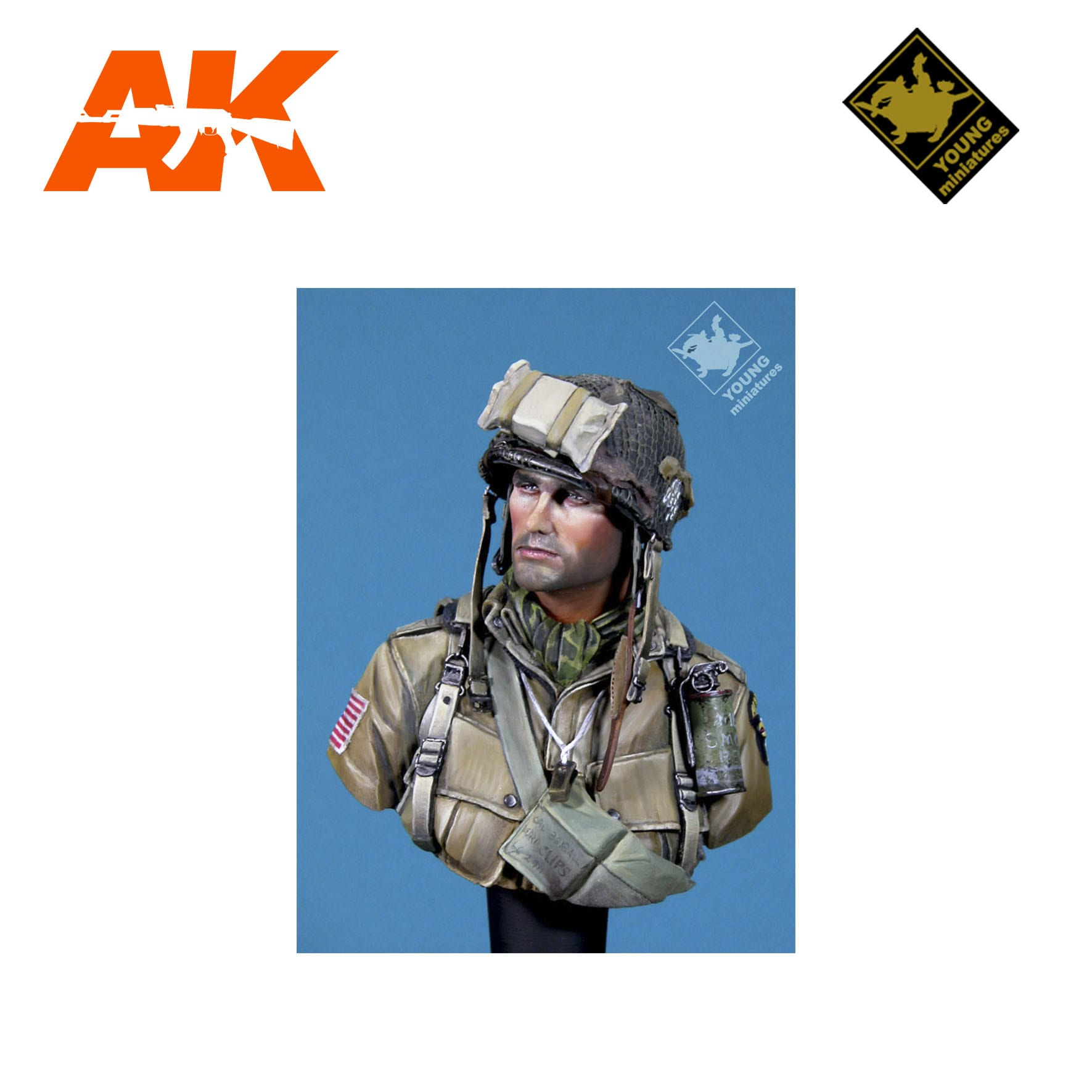 101st Airborne Division Normandy 1944 Ak Interactive The Weathering Brand