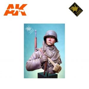YM YM1812 US SOLDIER ARDENNES 1944 AK-INTERACTIVE YOUNG MINIATURES