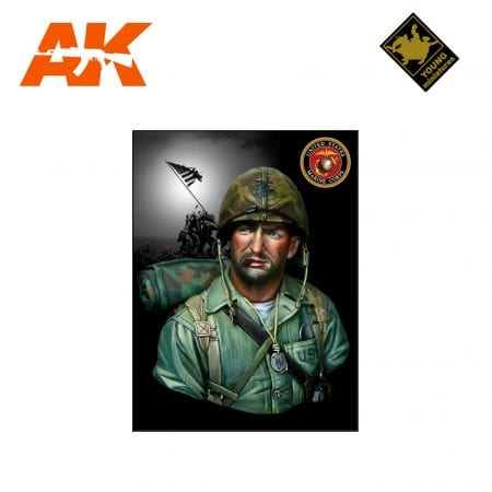 YM YM1813 USMC IWOJIMA 1945 AK-INTERACTIVE YOUNG MINIATURES