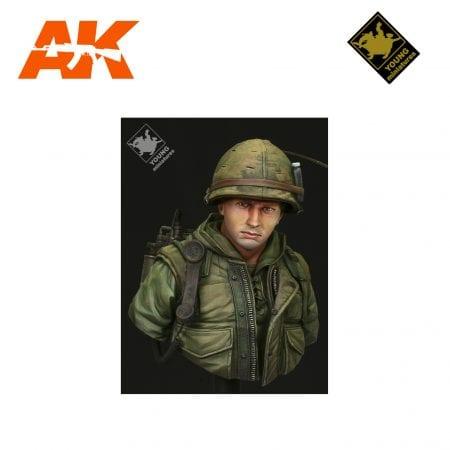 YM YM1817 USMC HUE VIETNAM 1968 AK-INTERACTIVE YOUNG MINIATURES