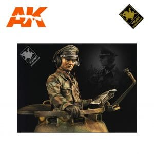 YM YM1826 MAX WUNSCHE WESTERN FRONT 1944 AK-INTERACTIVE YOUNG MINIATURES