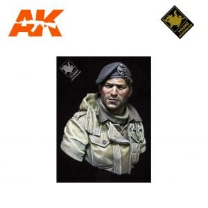 YM YM1835 BRITISH TANK CREW WWII AK-INTERACTIVE YOUNG MINIATURES