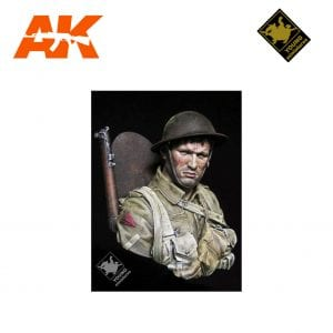 YM YM1837 BRITISH INFANTRYMAN SOMME 1916 AK-INTERACTIVE YOUNG MINIATURES