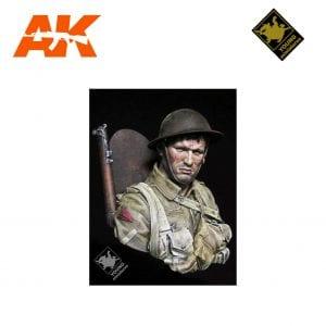 YM YM1837 BRITISH INFANTRYMAN SOMME 1916 AK-INTERACTIVE YOUNG MINIATURES