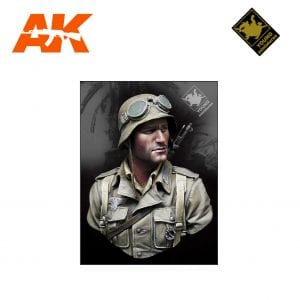 YM YM1839 GERMAN DAK INFANTRY NORTH AFRICA WWII AK-INTERACTIVE YOUNG MINIATURES