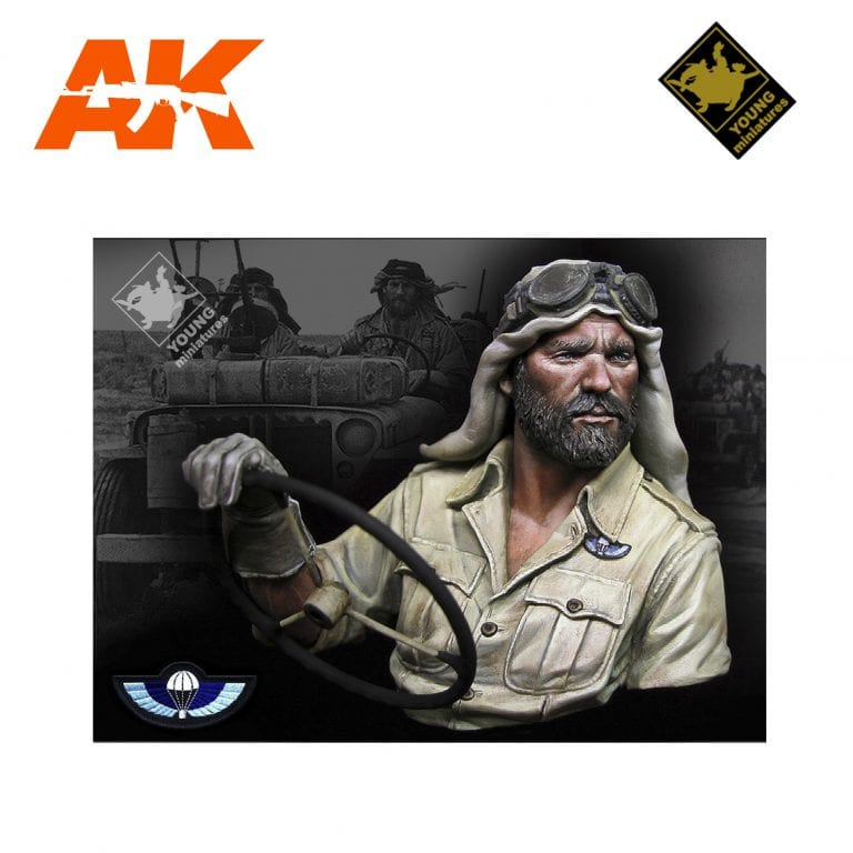 YM YM1842 BRITISH SAS NORTH AFRICA 1941 AK-INTERACTIVE YOUNG MINIATURES