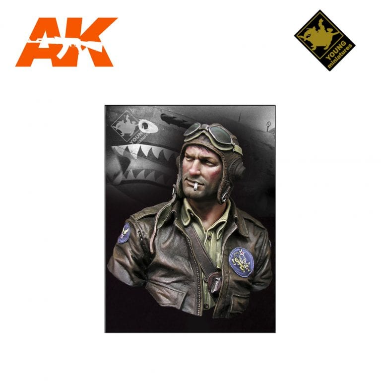 YM YM1843 FLYING TIGER 1942 AK-INTERACTIVE YOUNG MINIATURES
